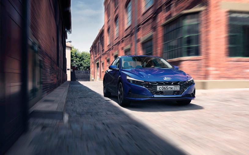 Названы российские цены на новую Hyundai Elantra
