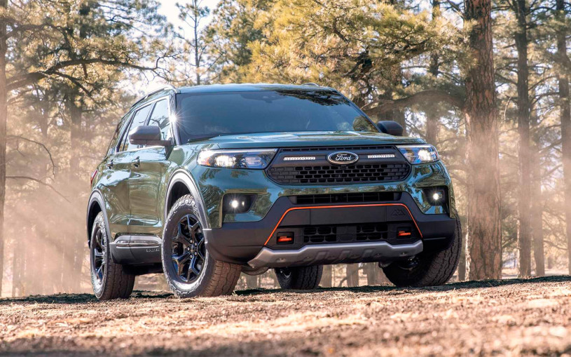 У Ford Explorer появилась версия для тяжелого бездорожья