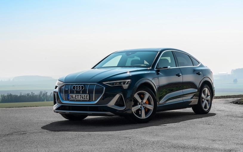Audi назвала российскую стоимость нового купе-кроссовера e-tron Sportback