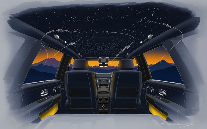 Rolls-Royce посвятит особую серию кроссовера Cullinan российским горам