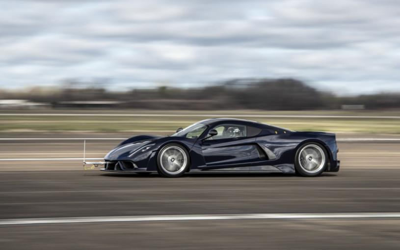 В США начались тесты кандидата на звание быстрейшей машины в мире. Видео