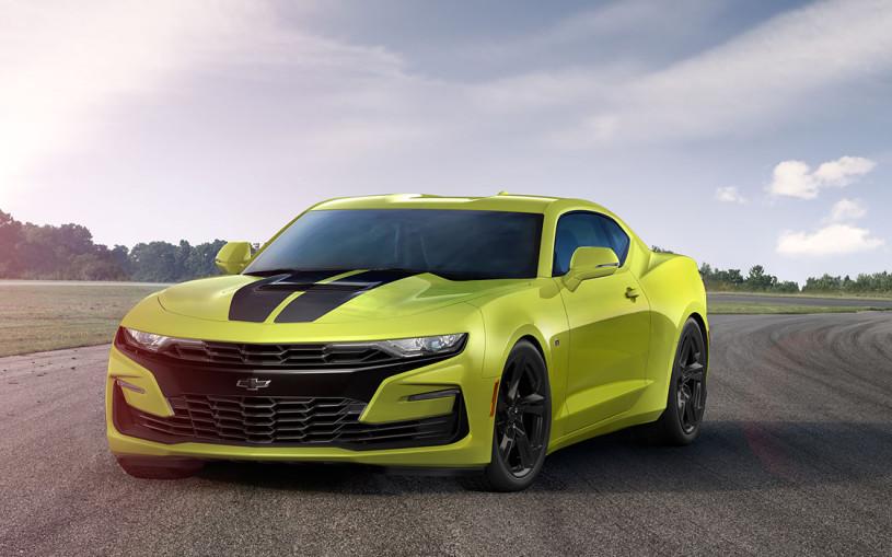 Chevrolet привез в Россию «шокирующую» версию Camaro