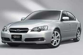 Женева: Subaru представит спортивную версию Legacy