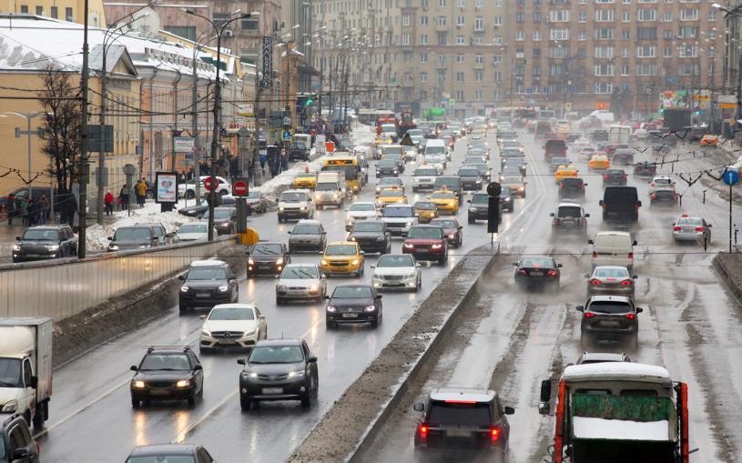 Власти Москвы назвали самые популярные автомобильные маршруты начала года