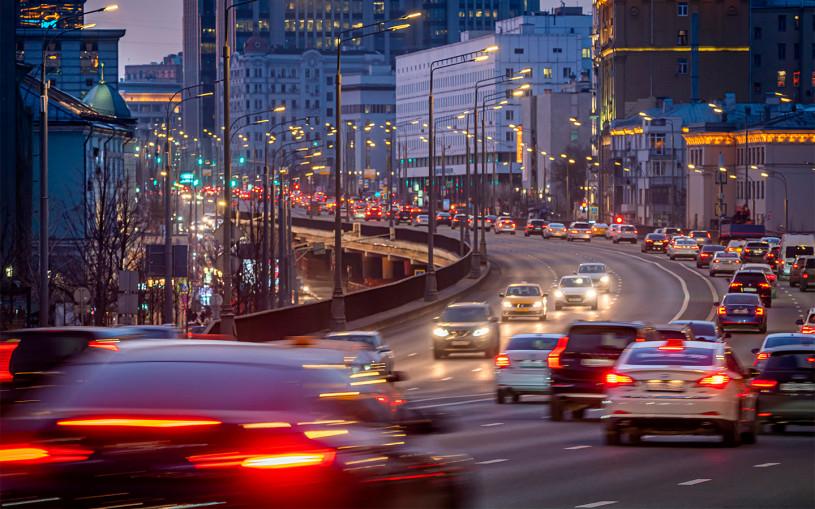 Московские власти назвали самые быстрые и медленные дороги в ноябре