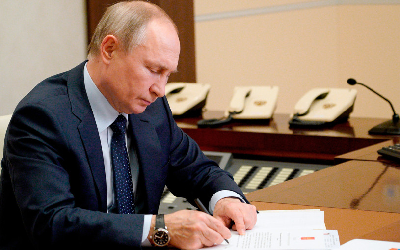 Путин ужесточил наказание для пьяных водителей