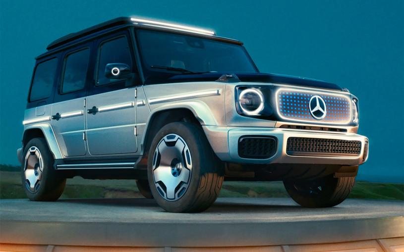 Mercedes-Benz представил электрический Gelandewagen