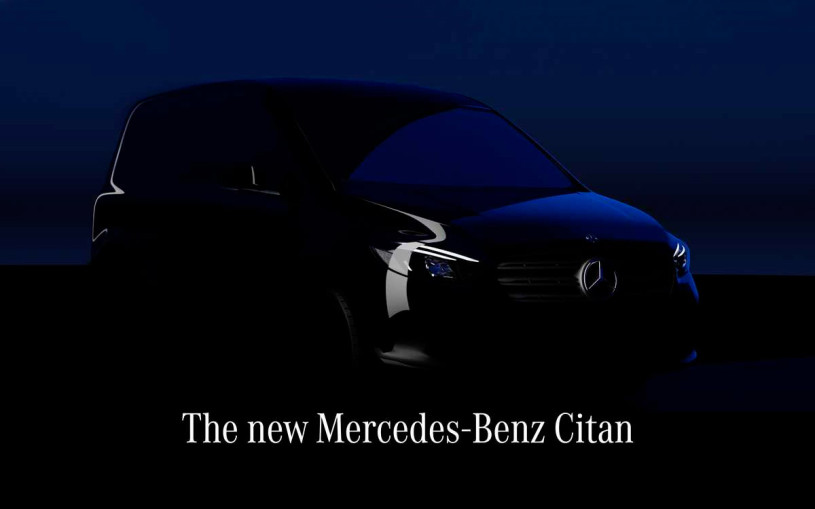 Mercedes анонсировал премьеру нового Citan