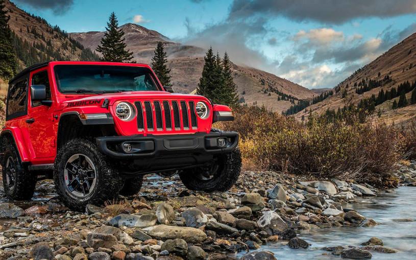 Новый Jeep Wrangler стал легче на 90 килограммов