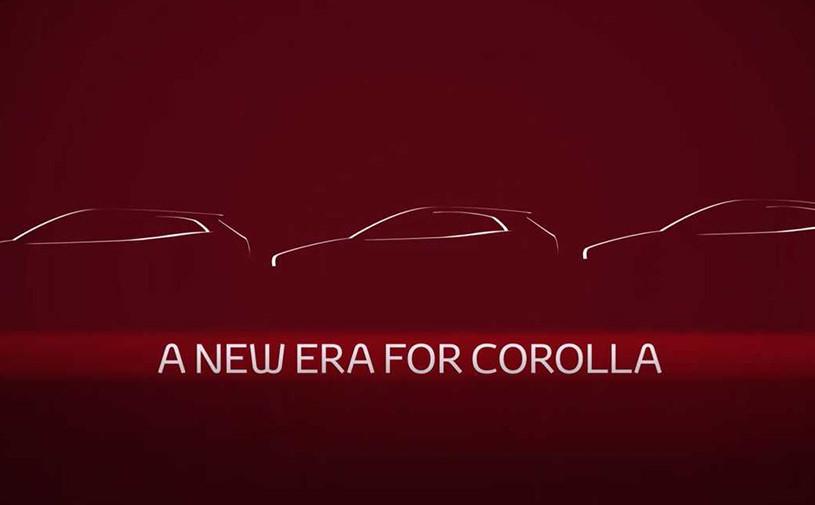 Toyota анонсировала премьеру нового седана Corolla