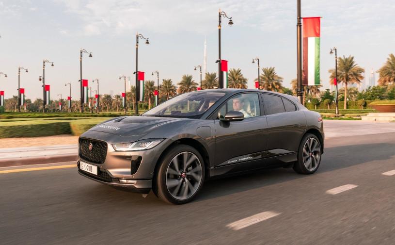Jaguar разработал беспилотник на базе электрического кроссовера I-Pace