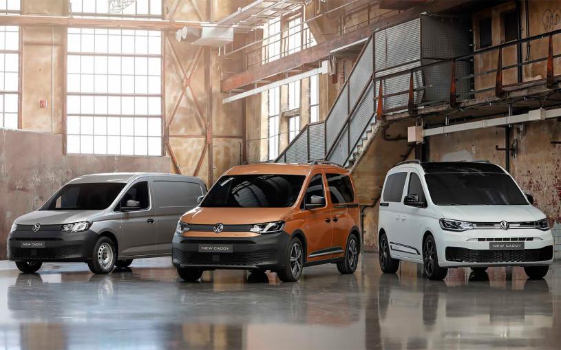 Volkswagen назвал цены на Caddy нового поколения для России