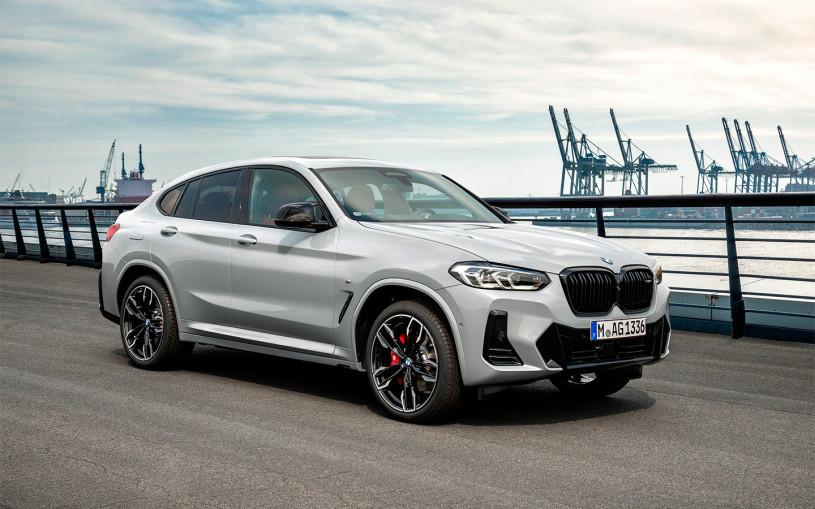 BMW назвал российские цены на обновленные X3 и X4