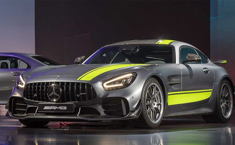 Mercedes модернизировал суперкар AMG GT