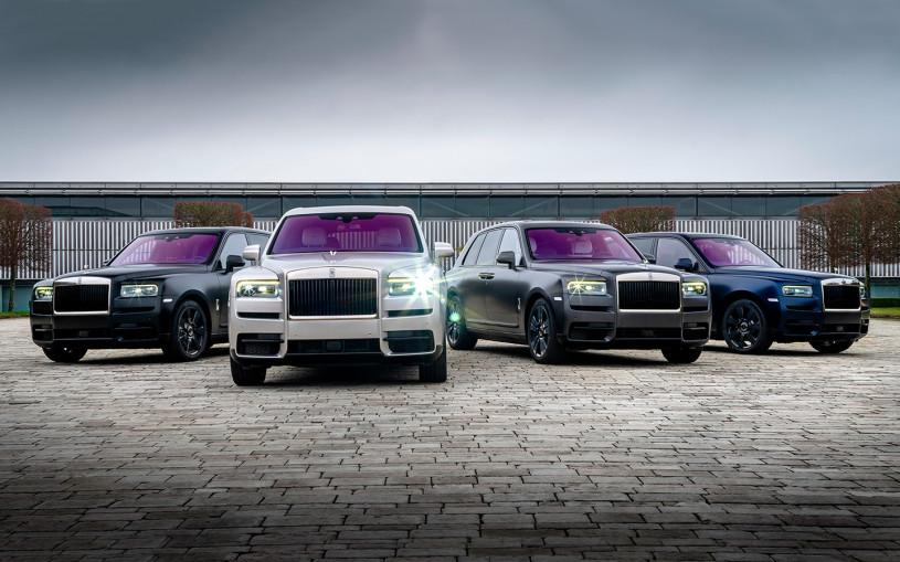 Rolls-Royce привез в Россию четыре уникальных внедорожника Cullinan