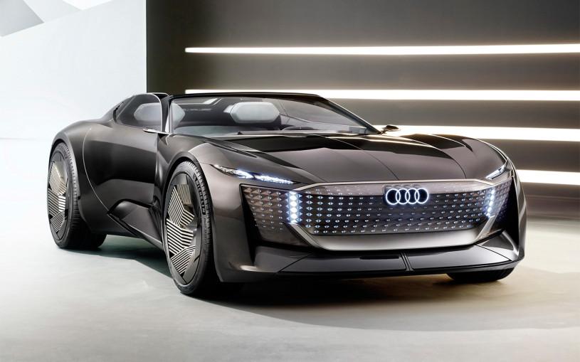 Audi выпустила 632-сильный концепт-трансформер с автопилотом