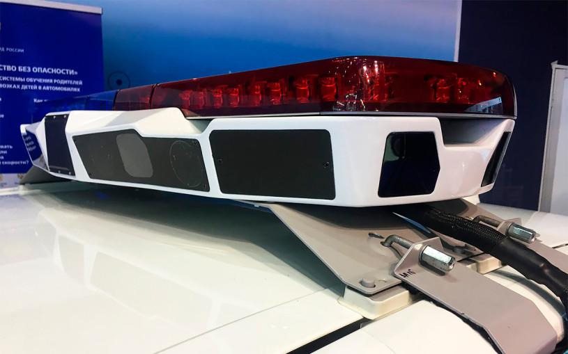 Мигалки на машинах ГИБДД заменят на «умные балки» с камерами
