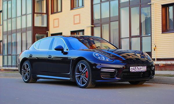 Другая лига. Тест-драйв Porsche Panamera Turbo