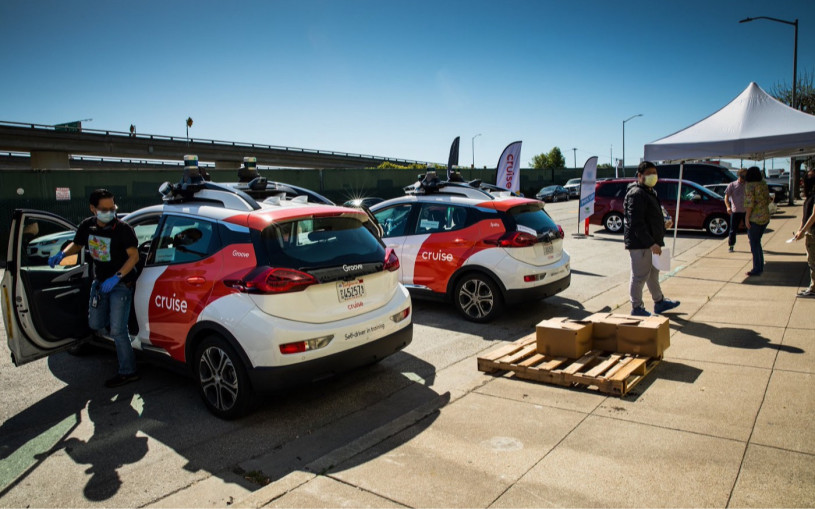 В Калифорнии разрешили беспилотные такси без водителя