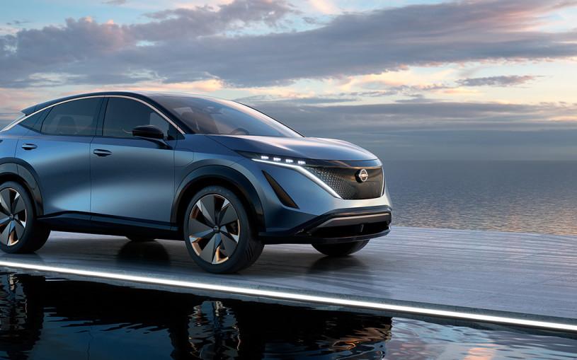 Nissan представил электрический кроссовер для России