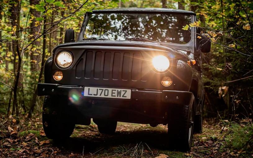 В Чехии разработали электрический УАЗ Hunter за 3,5 млн рублей