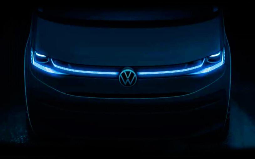 Volkswagen рассекретил дизайн нового минивэна