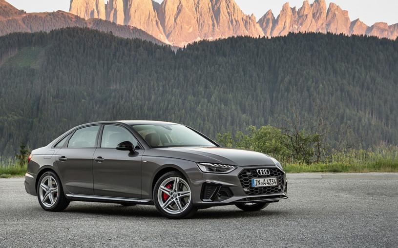 Вход без билета. Тест-драйв Audi A4