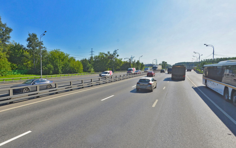 На Варшавском шоссе за МКАД разрешат ездить 80 км/ч