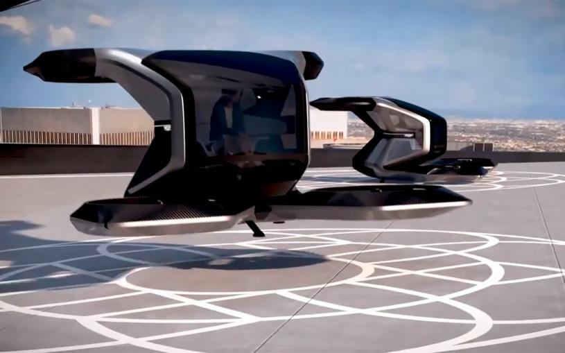 Летающий персональный дрон Cadillac показали на видео