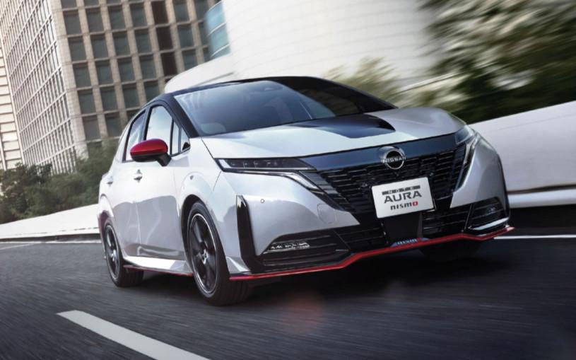 Маленькому хэтчбеку Nissan Note Aura добавили спортивную версию