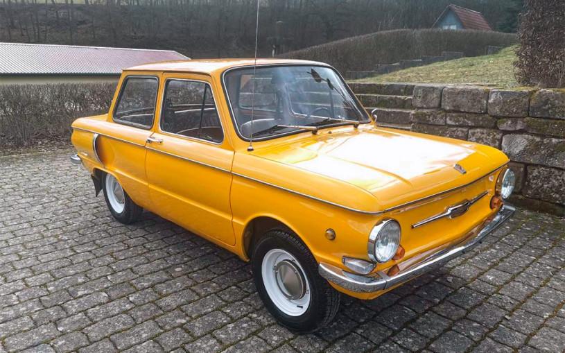 В Германии продают 44-летний «Запорожец» по цене нового Lada Largus