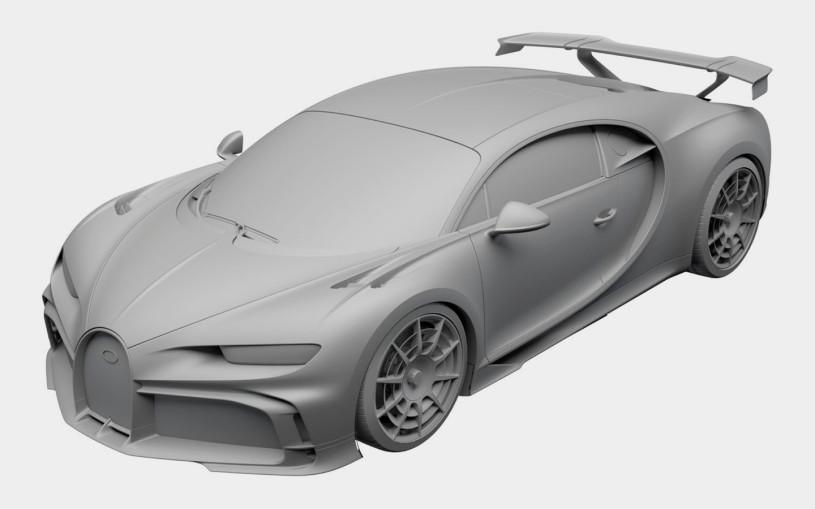 Bugatti запатентовал в России гиперкар за 3,2 млн евро