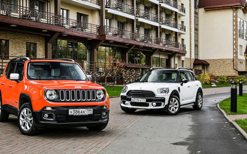 Русский стиль. Jeep Renegade против Mini Countryman