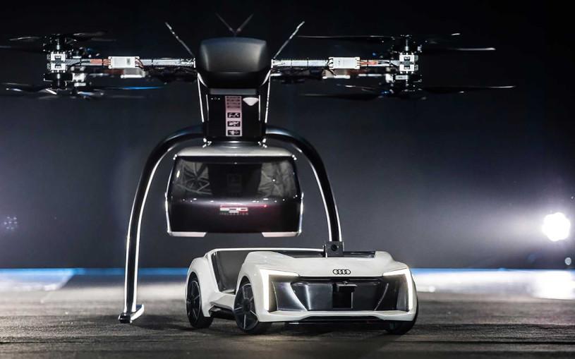 Audi провела испытания беспилотного летающего такси