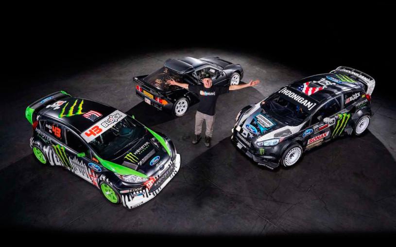 Кен Блок выставил автомобили из «Джимханы» на аукцион. Фото