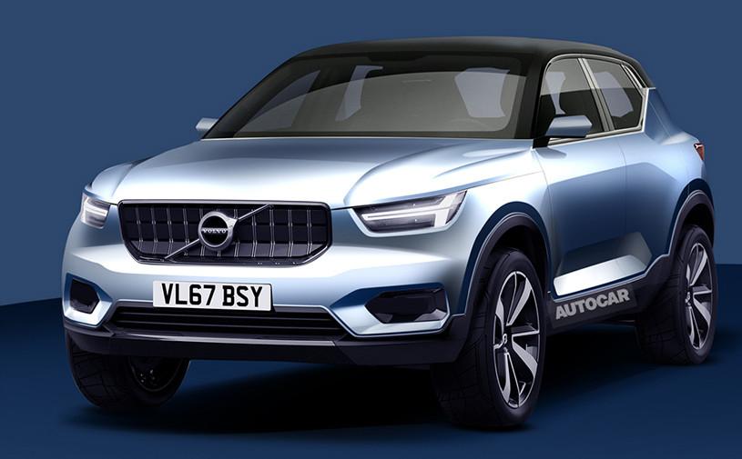 Первый электрокар Volvo разделит платформу с XC40