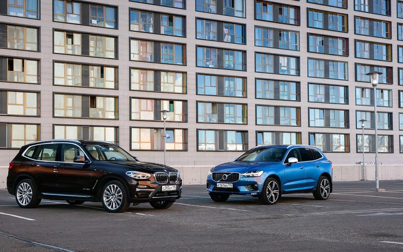Вопросы по философии. BMW X3 против Volvo XC60