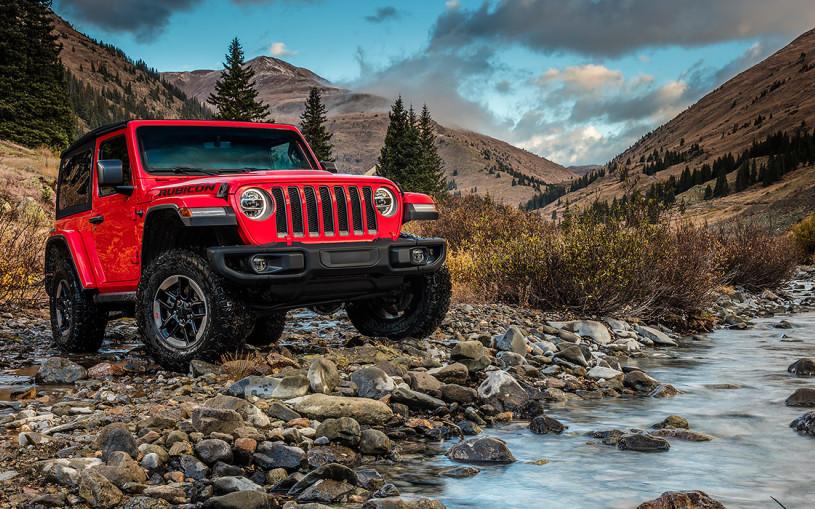 Планетоход. Тест-драйв нового Jeep Wrangler
