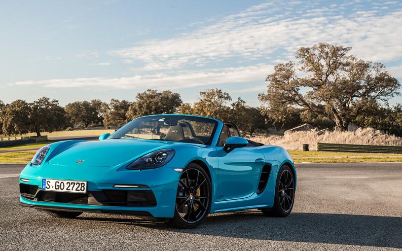 Выход из тени. Тест-драйв Porsche Boxster и Cayman GTS