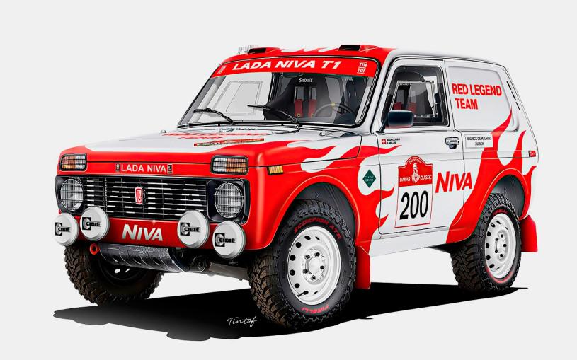 АвтоВАЗ поддержит швейцарцев на Lada Niva в ралли-рейде «Дакар»