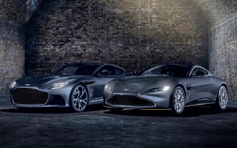Aston Martin подготовил к выпуску новой части бондианы особые спорткары