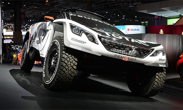 Peugeot построил новый внедорожник для ралли «Дакар»