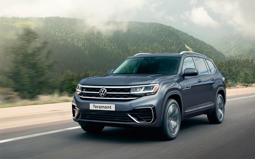 Volkswagen представил обновленный Teramont для России