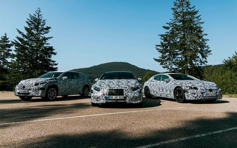 Mercedes-Benz разработает 1000-сильный электрокроссовер