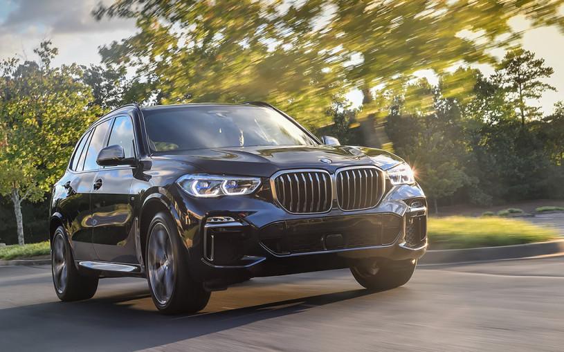 Он – легенда. Тест-драйв нового BMW X5