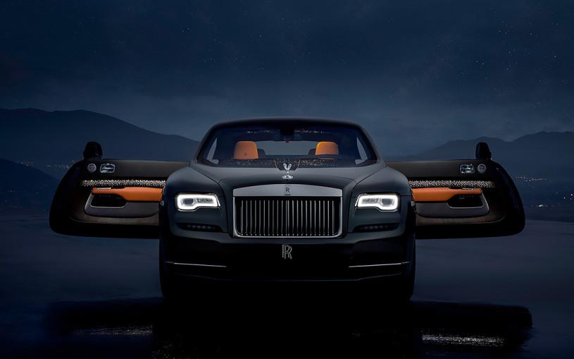 В салоне Rolls-Royce Wraith появились «падающие звезды»