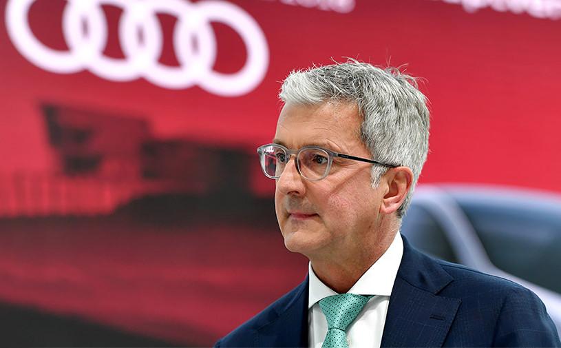 Бывшего главу Audi освободили из-под стражи