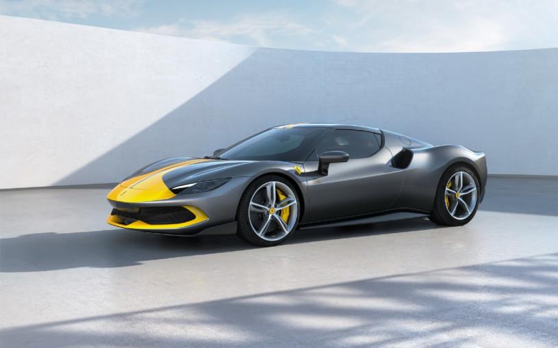 Ferrari выпустила 830-сильный гибрид с мотором V6