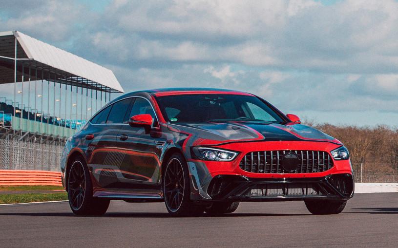 Mercedes опубликовал первые фото своей мощнейшей серийной модели