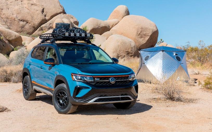 Новый кроссовер Volkswagen Taos получил внедорожную версию